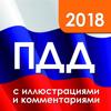 Mariia Ostrikova - ПДД 2018 с иллюстрациями обложка