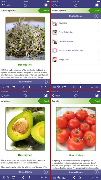 Healing foods app report on mobile action for Cuisine for healing