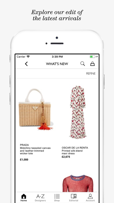 NET-A-PORTER: Designer Fashion Скриншоты5