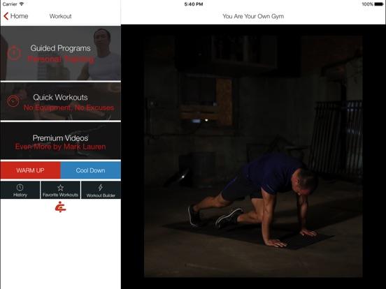 Bodyweight Training: YAYOG Screenshot