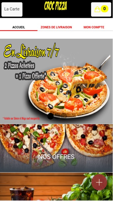 croc pizza per mfc antony. Black Bedroom Furniture Sets. Home Design Ideas