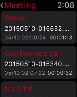 Awesome Voice Recorder - ボイスレコーダー Screenshot