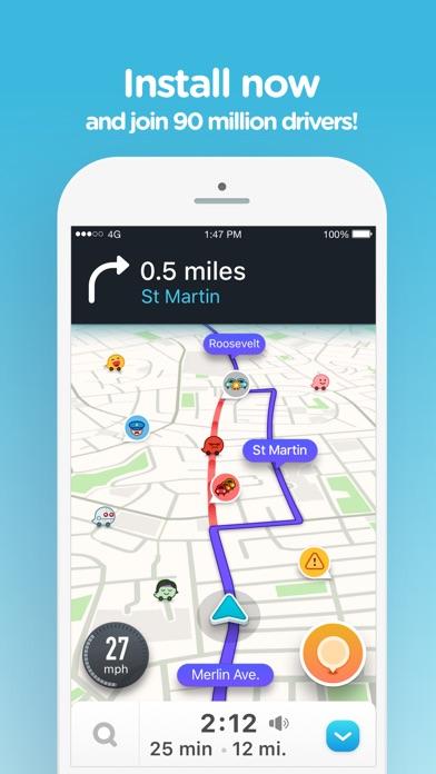 download Waze Navigation & Live Traffic apps 0