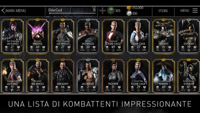 Screenshot of MORTAL KOMBAT X5