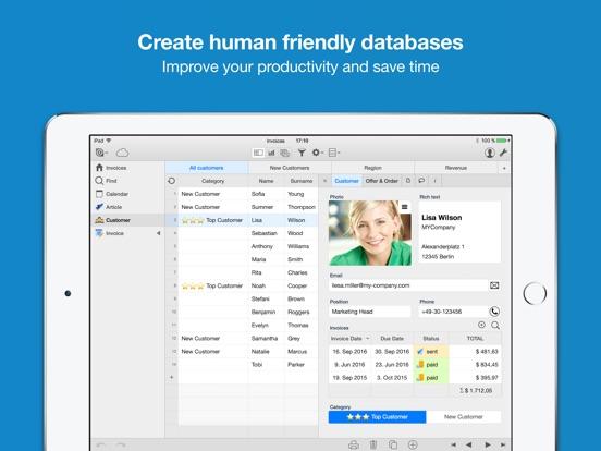 Ninox Database for iPad - iPad app