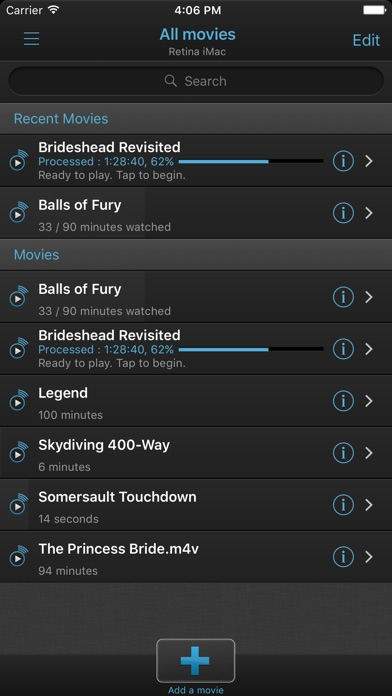 VLC Streamer Screenshots