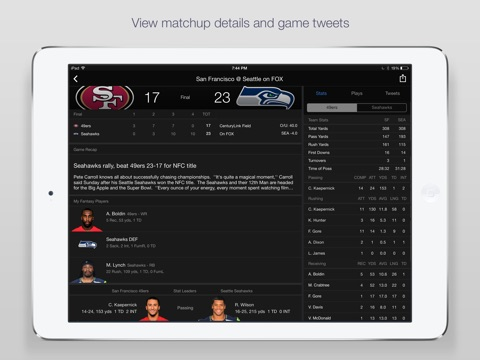 Yahoo Sports: Football & More screenshot 4