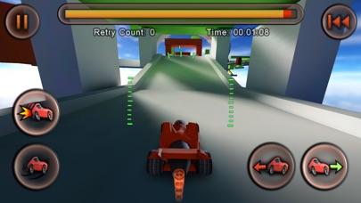 Screenshots of Jet Car Stunts Lite for iPhone