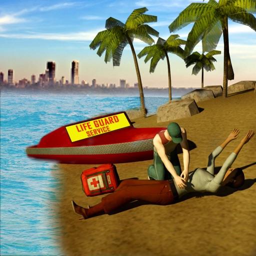 Summer Coast Guard 3D: Jet Ski Rescue Simulator images