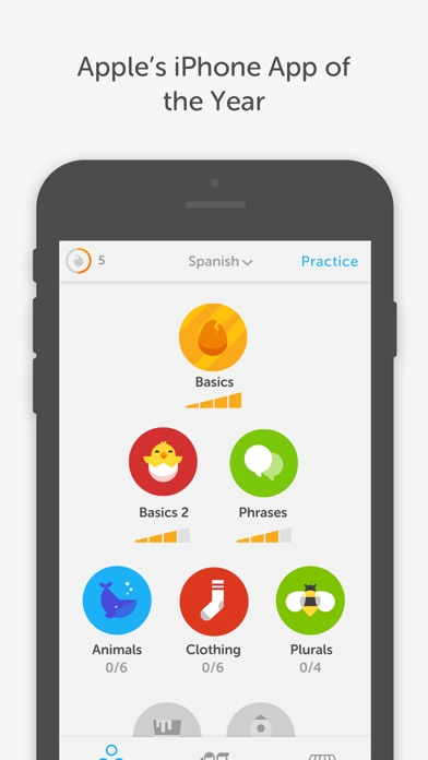 Duolingo Learn Languages Free Screenshot Thumbnail