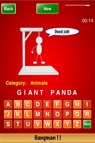 Hangman ! ! screenshot 3