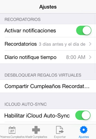 Birthday Reminder Pro+ screenshot 4