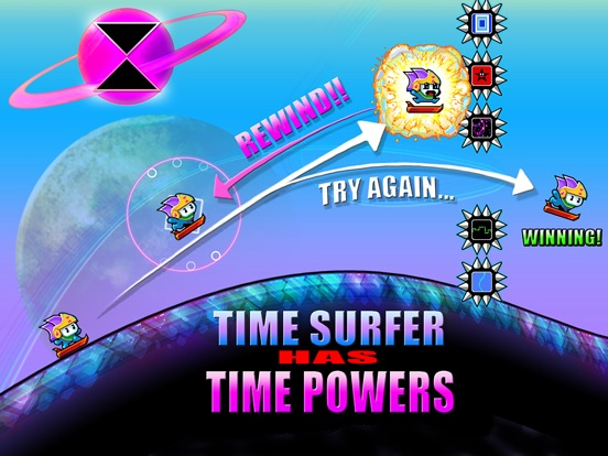 Time Surfer Screenshots