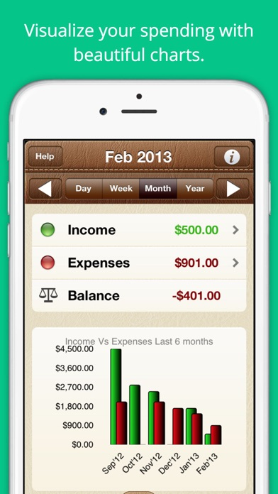 how to clear payee information in goodbudget app