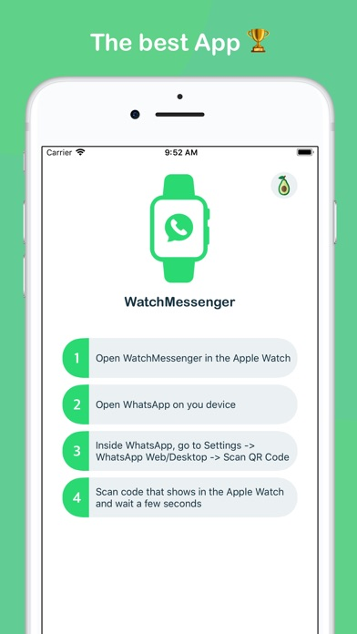 WatchMessenger for WhatsApp screenshot 2