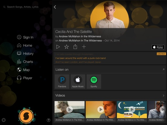 SoundHound∞ - Music Discovery Screenshots