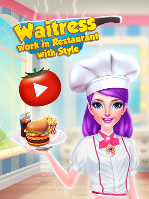 Официантка - работа в ресторане со стилем Скриншоты6