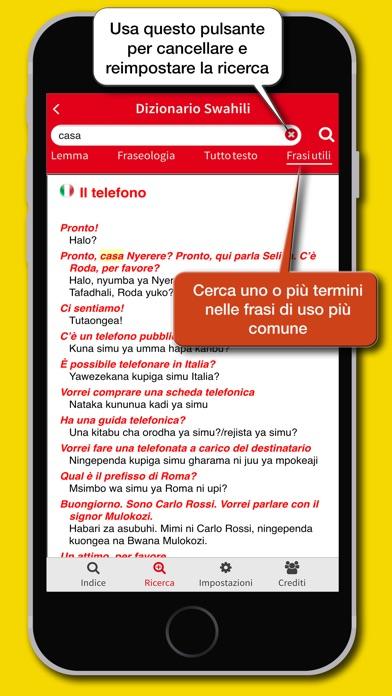 Screenshot of Dizionario Swahili Hoepli5