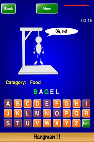 Hangman ! ! screenshot 1