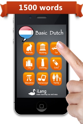 Learn Dutch  iLang™ screenshot 1