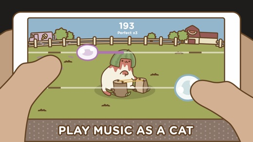 Tappy Cat - Rhythm Collector Screenshot