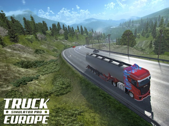 Truck Simulator PRO Europe Screenshots