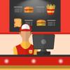 Yena Kim - Burger Cashier Fast food game artwork