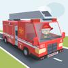 Dappere kleine brandweerman