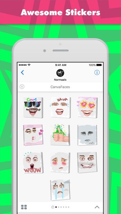 Canvafaces review screenshots