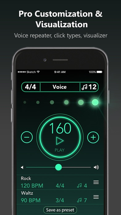 Metronome with presets pro app download android apk for 979 the beat number