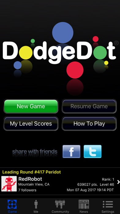 DodgeDot Screenshots