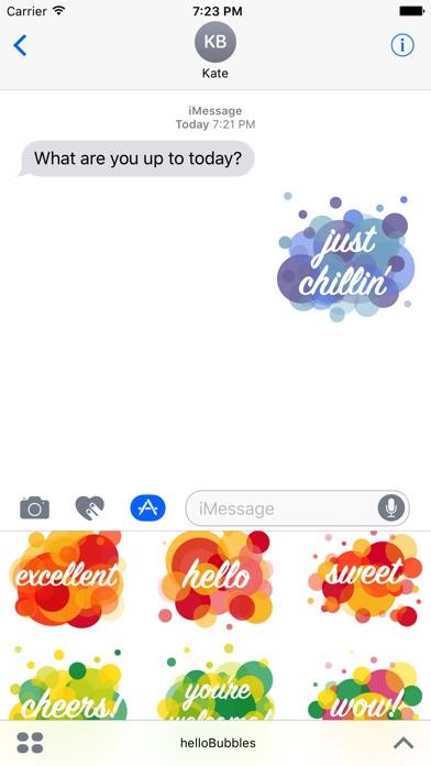 Hello Bubbles review screenshots