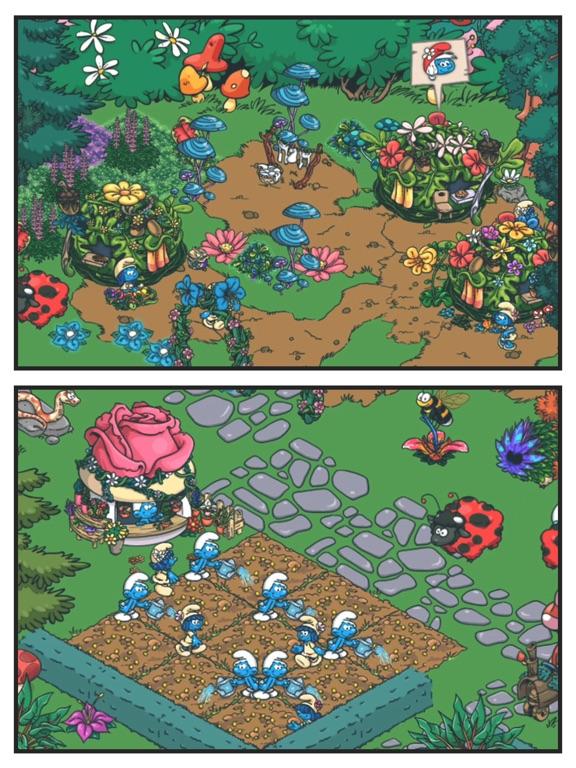 Игра Smurfs' Village