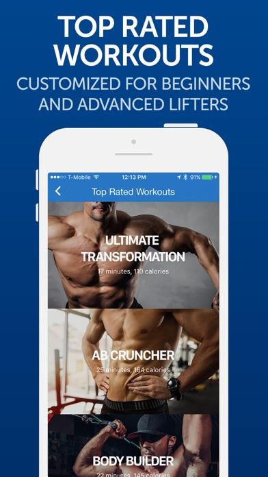 Fitness Buddy+: Gym Workouts Screenshots
