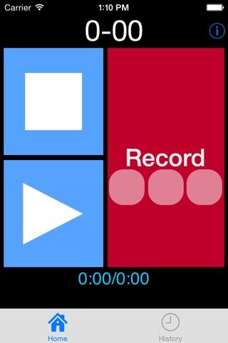 MP3 Voice Recorder screenshot 1