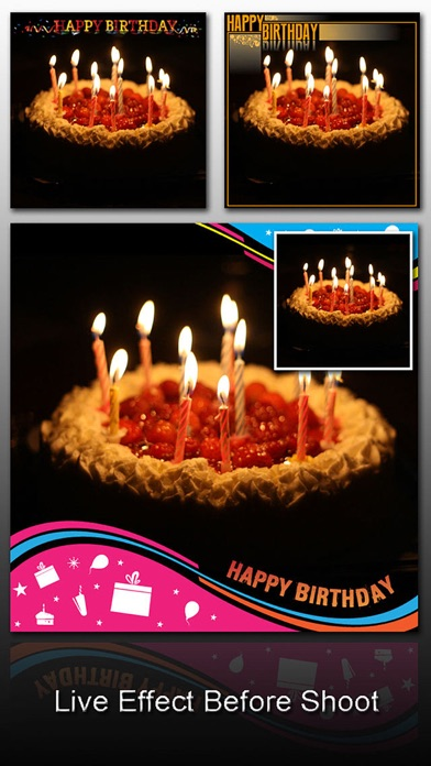 Birthday Frame Greetings Screenshots
