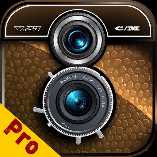 Vintage Camera Retro filters plus awesome 8mm photo effects & sketch art filters iOS App