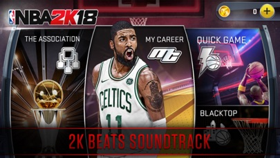 Screenshot of NBA 2K18 App