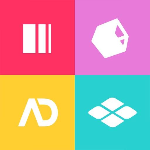 logos quiz wie viele marken erkennt ihr kostenlose apps f r iphone ipad. Black Bedroom Furniture Sets. Home Design Ideas