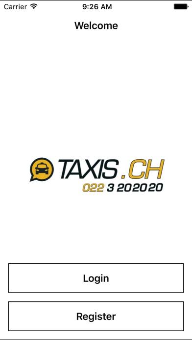 Geneve TaxiCapture d'écran de 1
