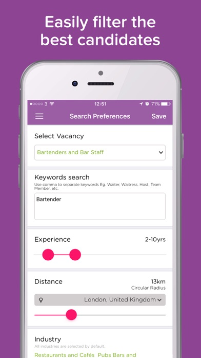 download SONIC JOBS for employers appstore review