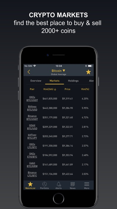 Download Crypto Tracker: Cryptocurrency App