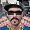 Gangsta Bild Aufkleber: Gangster Leben Foto Editor