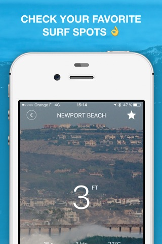 Weesurf, Surf forecast & info screenshot 1