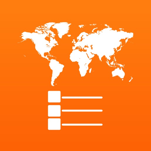世界地图标注:Thematic+