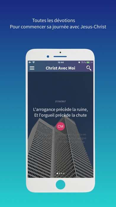 Christ Avec Moi Ministries screenshot 2