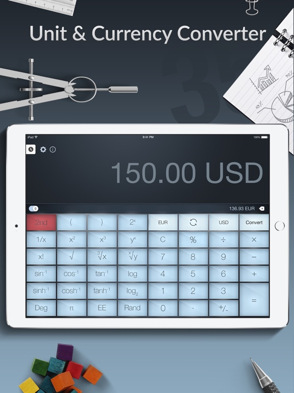 Screenshot #5 for Calculator Pro+ for iPad