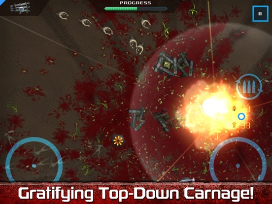 Crimsonland HD для iPad