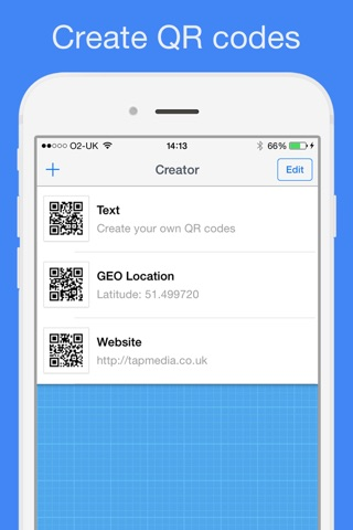 QR Reader for iPhone (Premium) screenshot 4