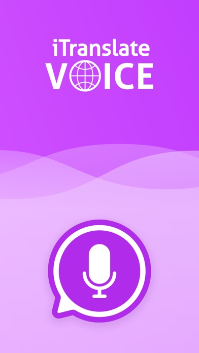 iTranslate Voice Screenshots